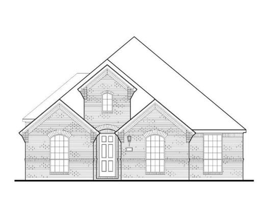 Exterior:Plan 1592 Elevation A