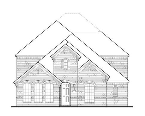 Exterior:Plan 1594 Elevation A