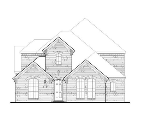 Exterior:Plan 1595 Elevation A