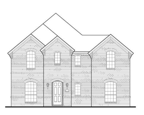 Exterior:Plan 1596 Elevation A