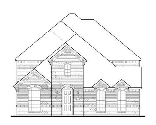 Exterior:Plan 1597 Elevation A