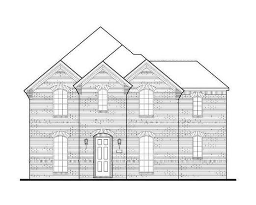 Exterior:Plan 1598 Elevation A