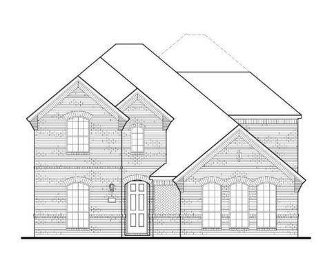 Exterior:Plan 1599 Elevation A