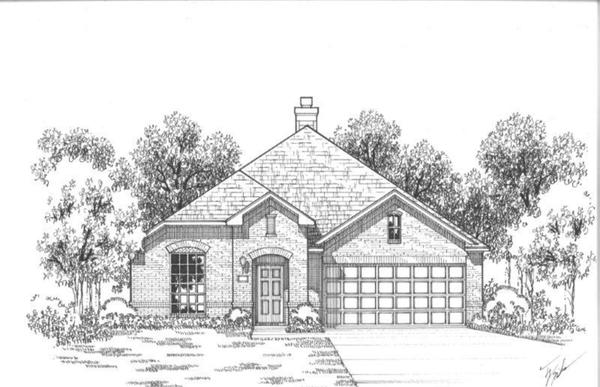 Exterior:Plan 1151 Elevation A