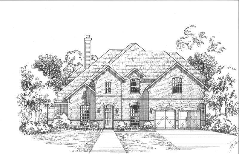 Exterior:Plan 1706 Elevation A