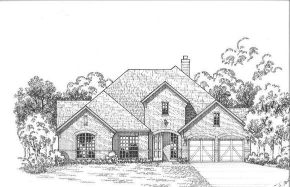 Exterior:Plan 1701 Elevation A
