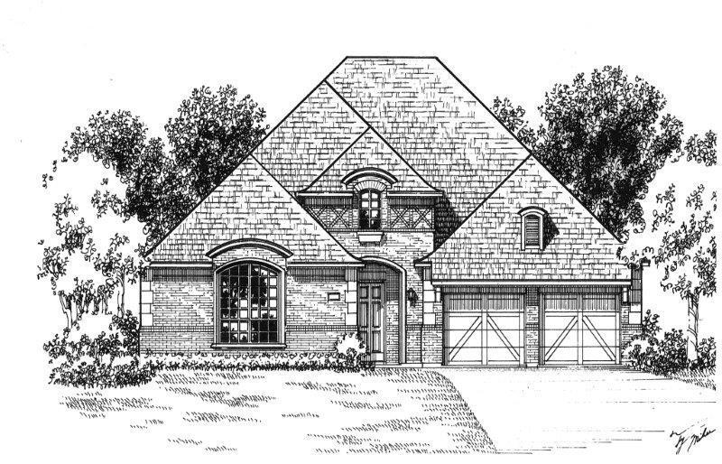 Exterior:Plan 623 Elevation A