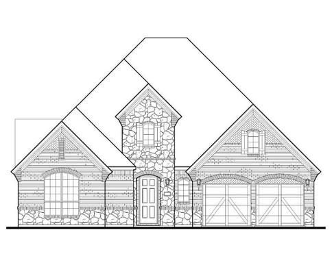 Exterior:Plan 1630 Elevation D