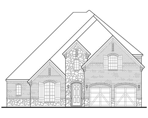 Exterior:Plan 1632 Elevation D