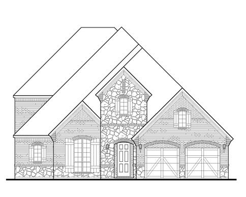 Exterior:8276 Western Elevation A