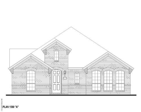 Exterior:Plan 1589 Elevation A