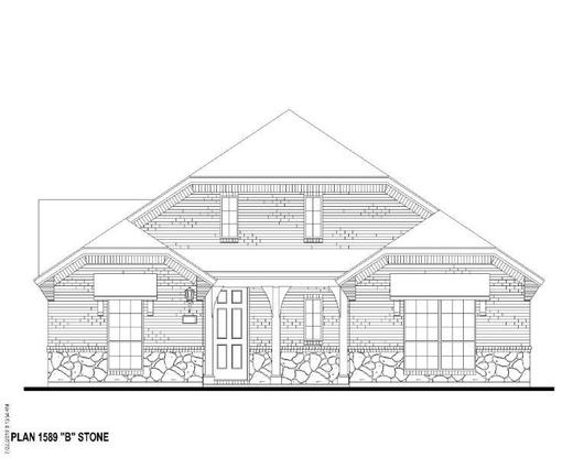 Exterior:12354 Lost Valley Elevation B w/ Stone