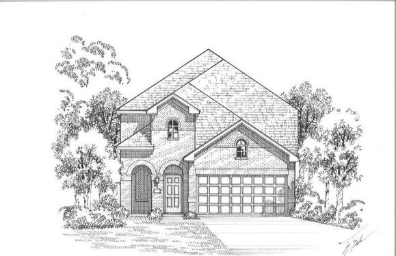 Exterior:Plan 1181 Elevation A