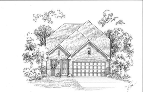 Exterior:Plan 1189 Elevation A