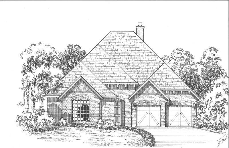 Exterior:Plan 620 Elevation A