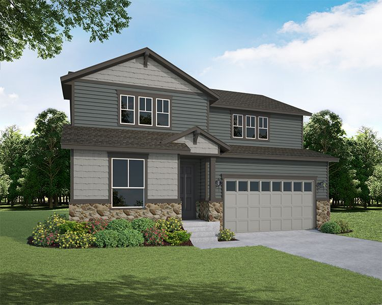 Exterior:2104 Gather Elevation A