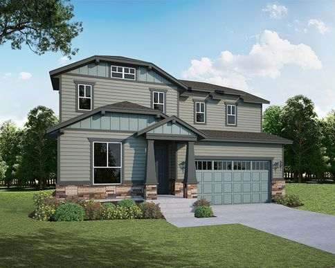 Exterior:2147 Gather Elevation B