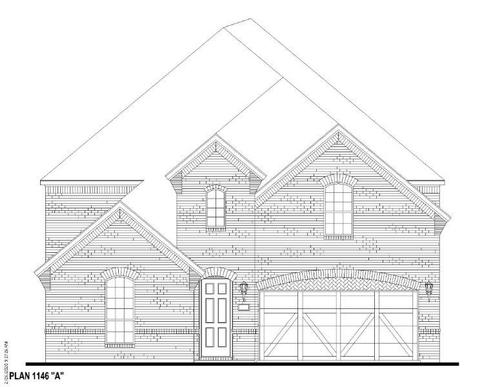 Exterior:Plan 1146 Elevation A