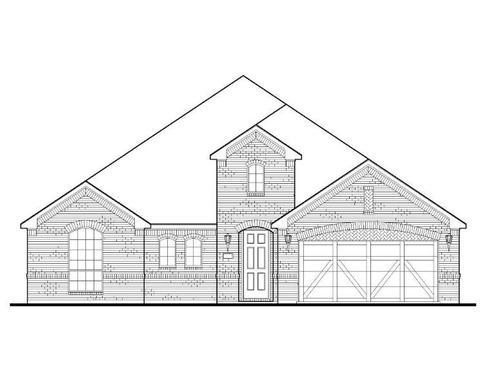 Exterior:Plan 1690 Elevation A