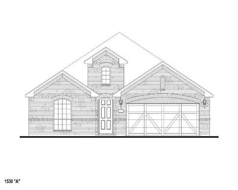 Exterior:Plan 1530 Elevation A