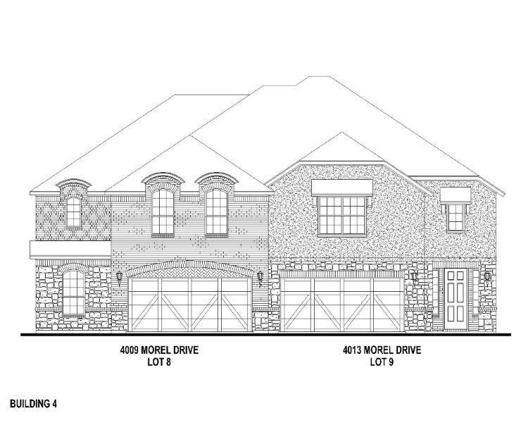 Exterior:4009 Morel Elevation