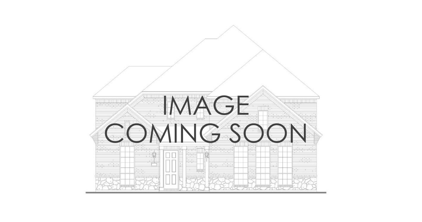 Exterior:Plan 1671 Elevation C with Stone