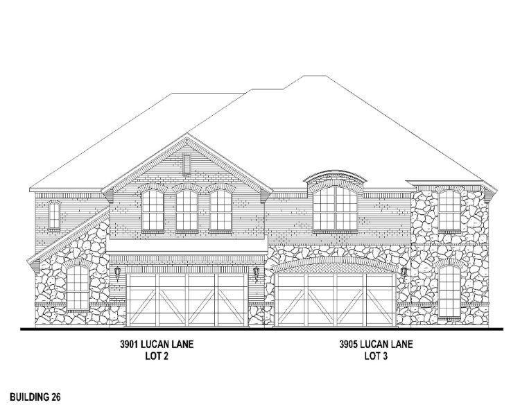 Exterior:3905 Lucan Elevation
