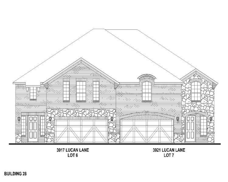 Exterior:3921 Lucan Elevation