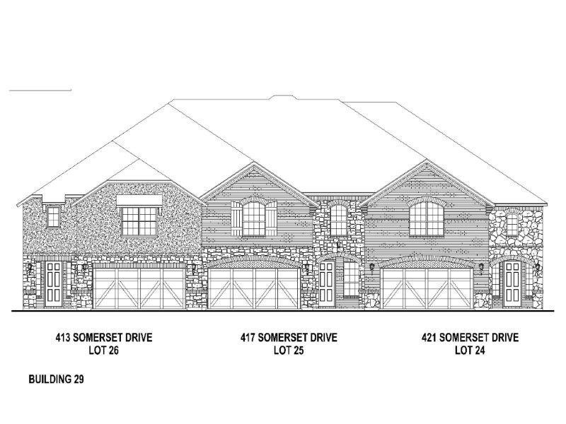 Exterior:421 Somerset Elevation
