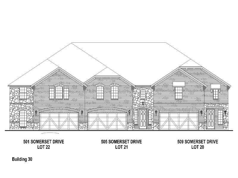 Exterior:505 Somerset Elevation