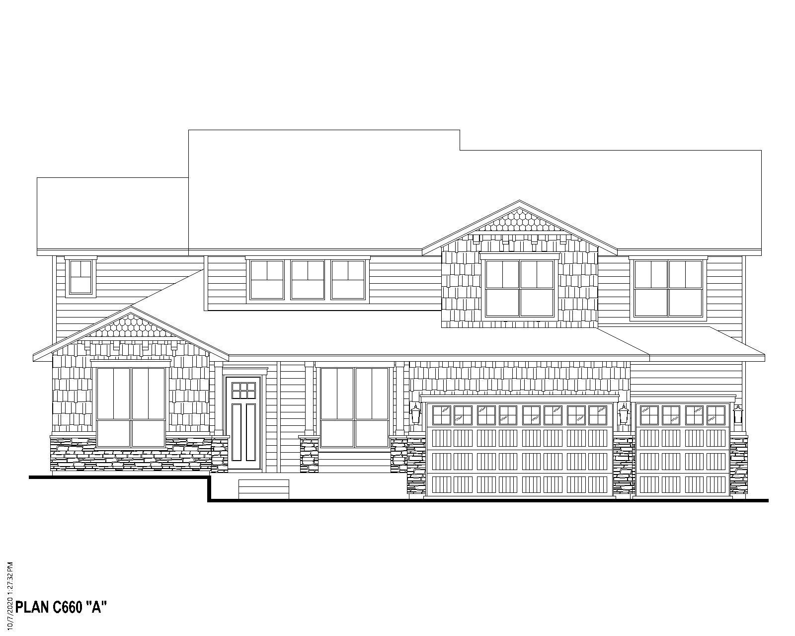 Exterior:Plan C660 Elevation A