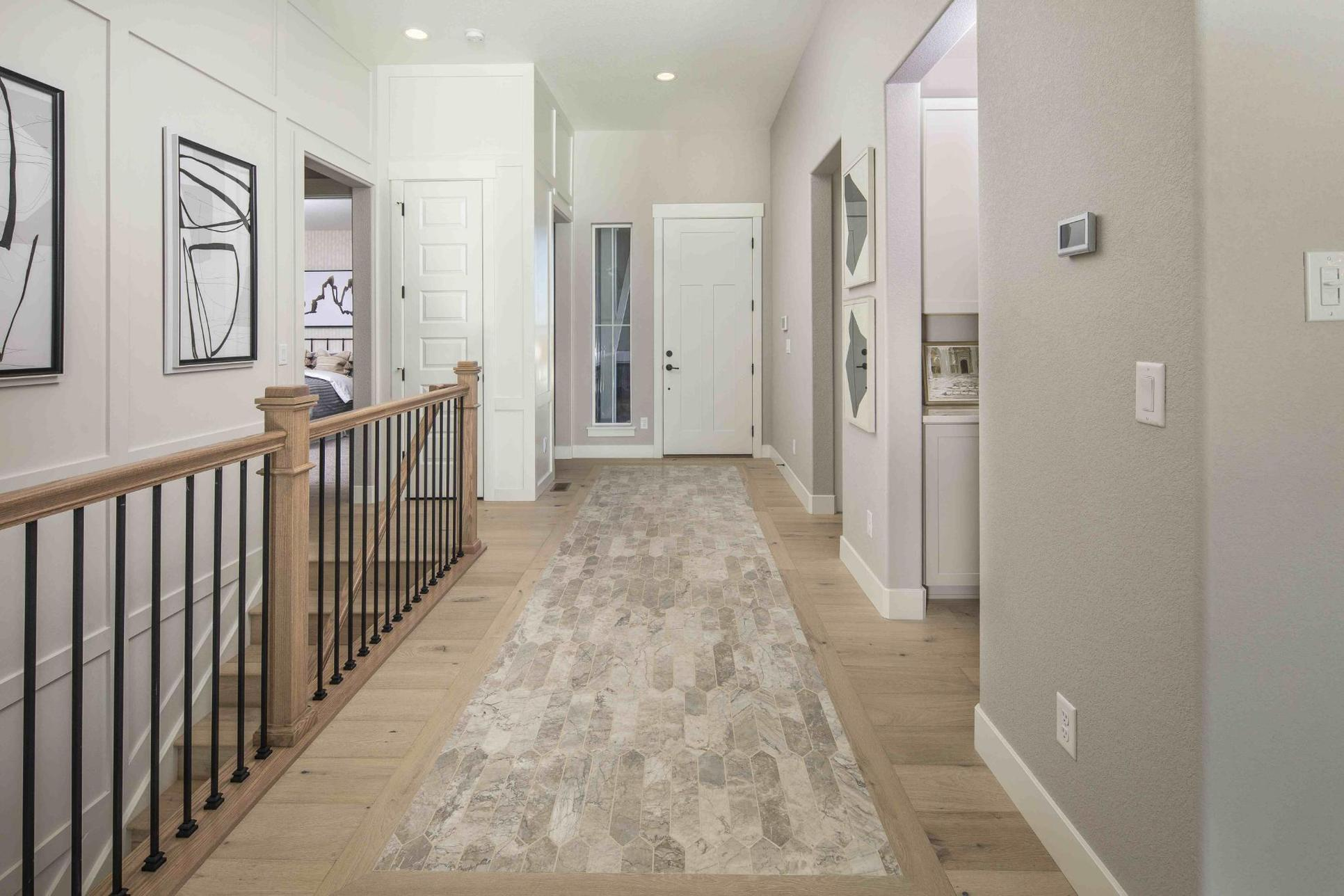 Interior:Plan C652 Entry Photo by American Legend Homes