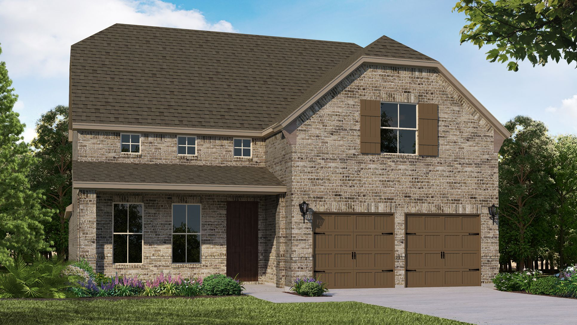 Exterior:Plan 1148 elevation A