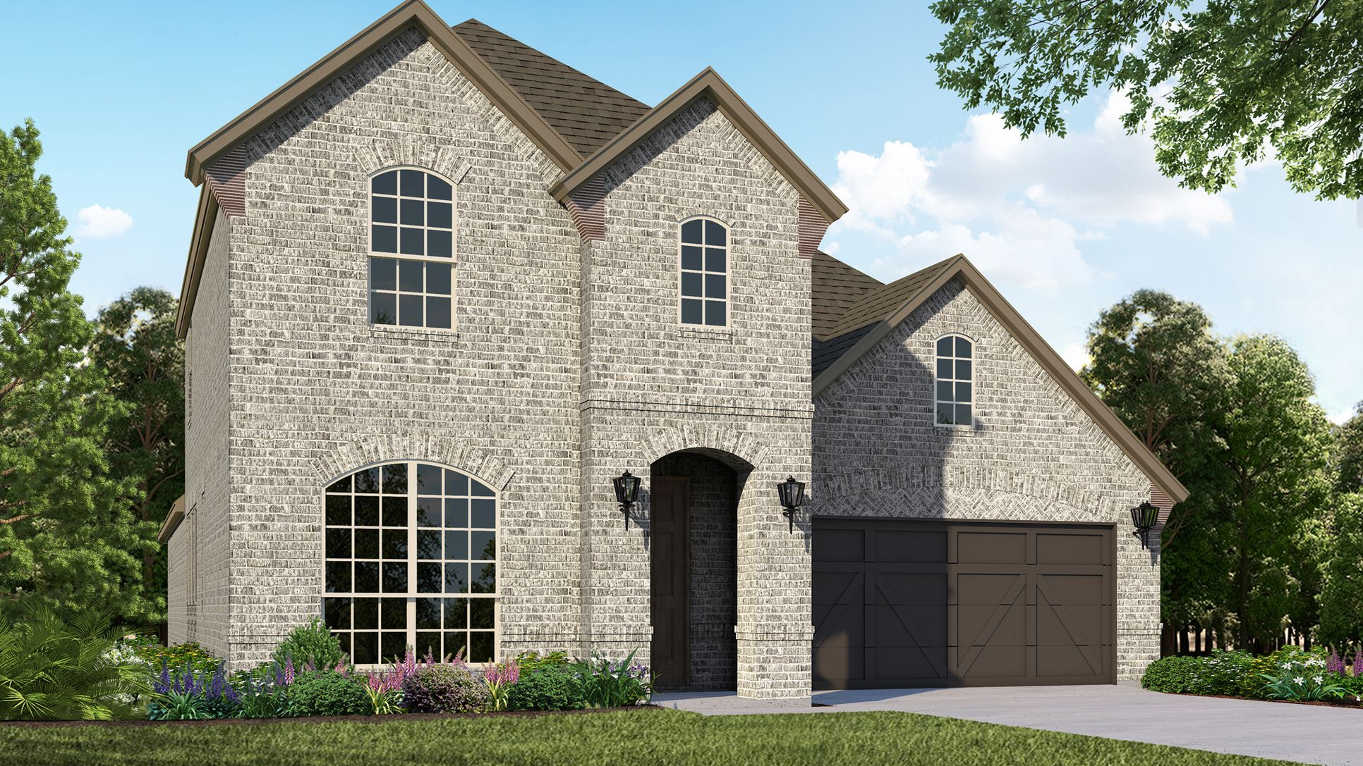 Exterior:Plan 1158 Elevation A