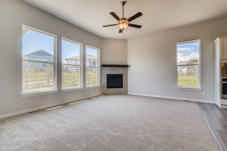 Interior:Plan C352 Living Room Representative Photo by American Legend Homes