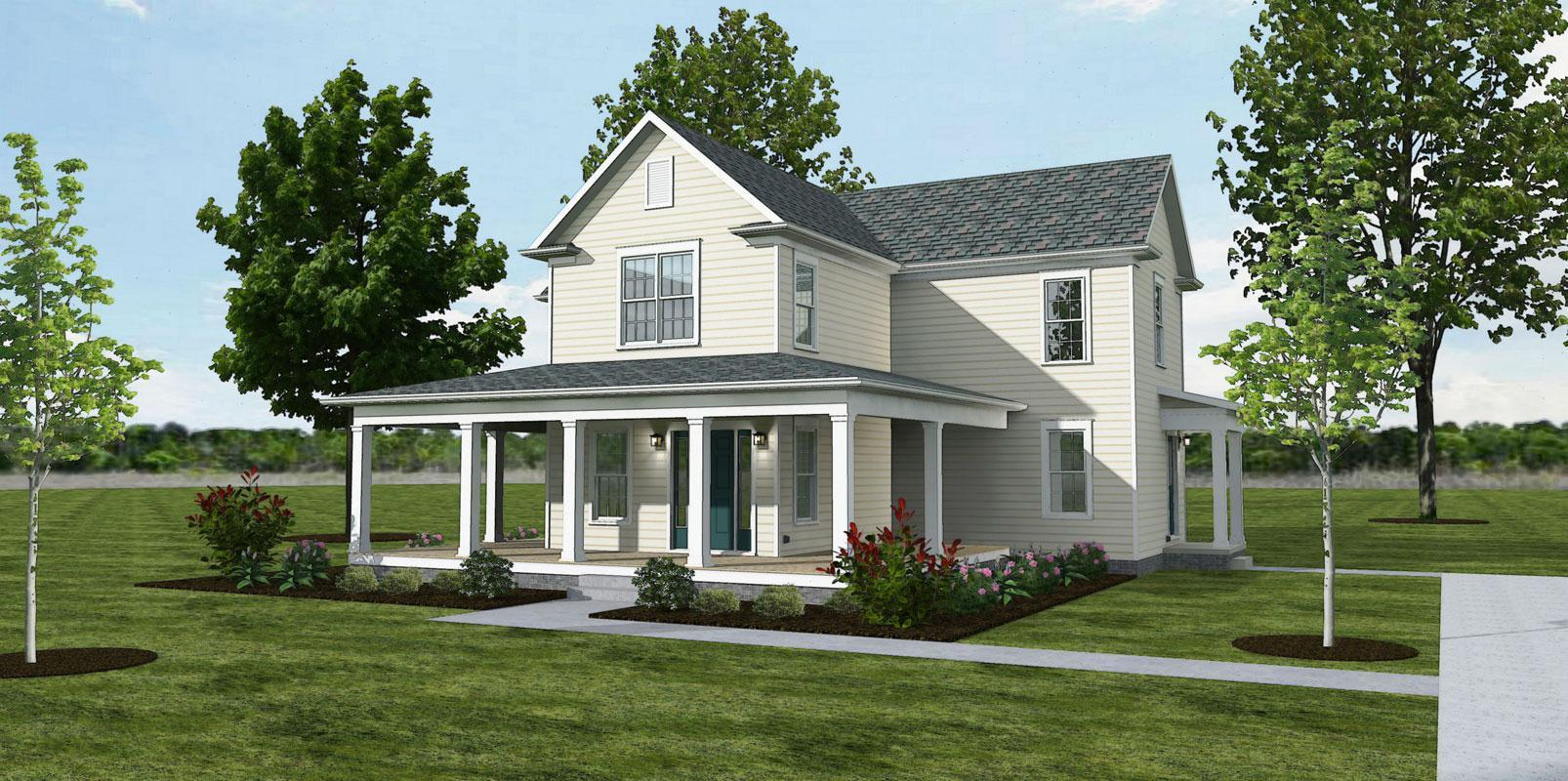 The Apple Valley - Farmhouse:Elevation