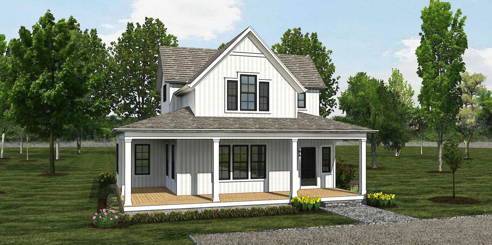 The Veranda - Cottage:Elevation