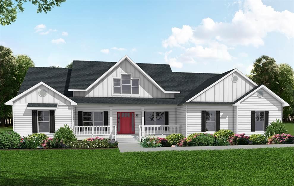 Modern Farmhouse:Option 1