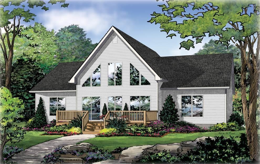 The Mountainview I A:Farmhouse