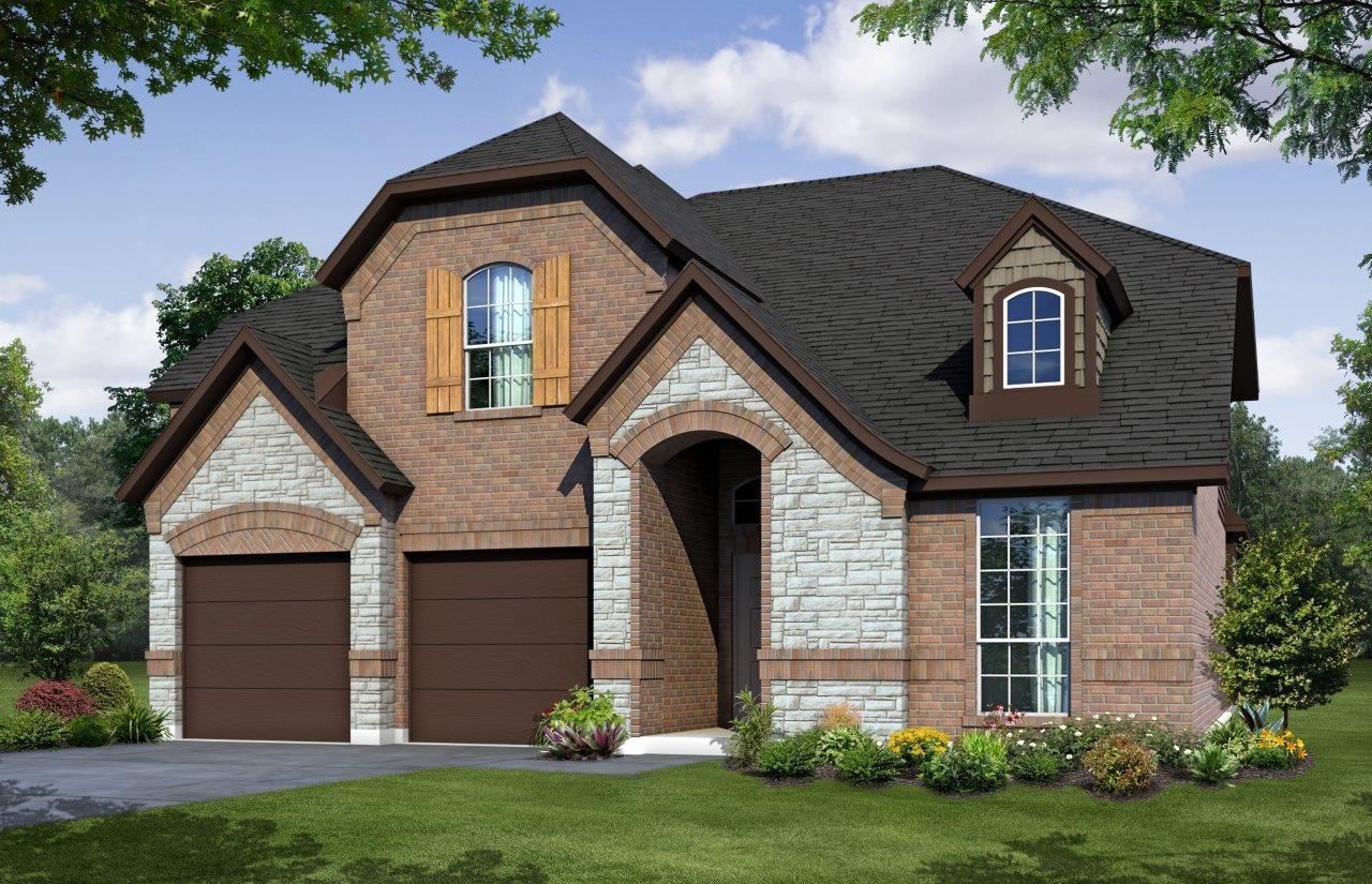 Exterior:2853 B with Stone