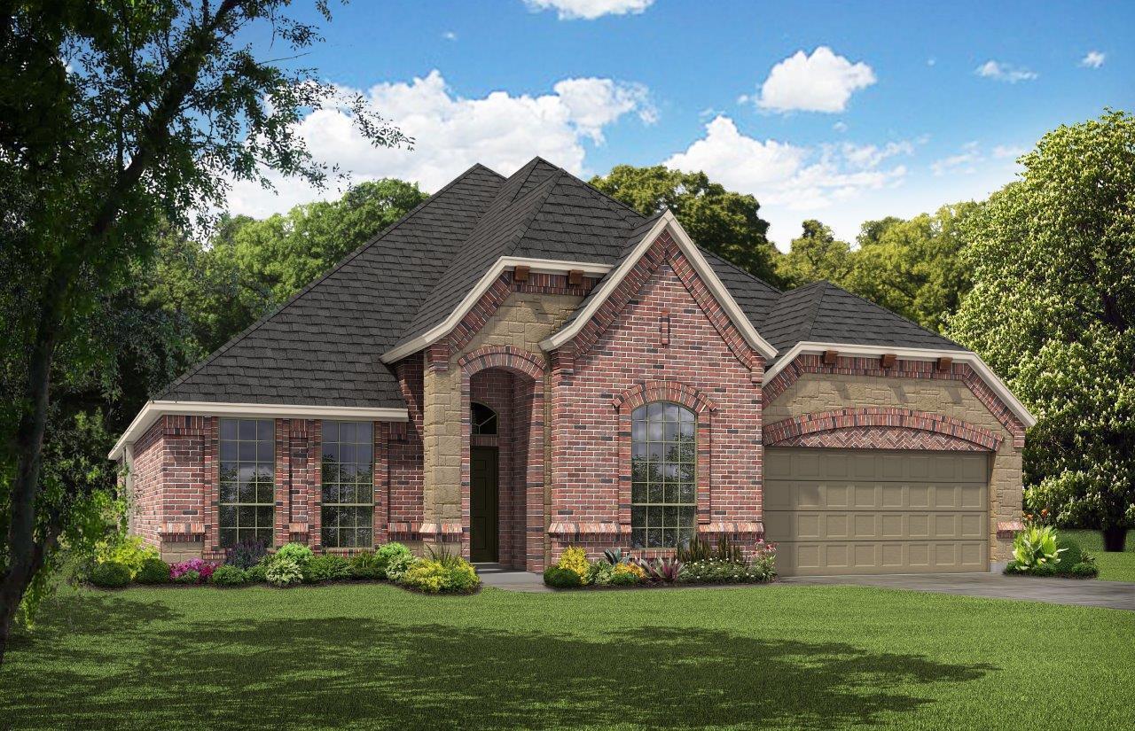 Exterior:Antares Homes Sig Series 2622 B-Stone