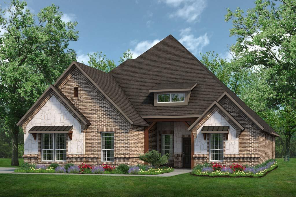 Exterior:Concept 2555 C with Stone