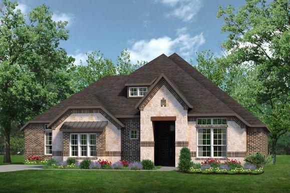 Exterior:Concept 2798 B with Stone