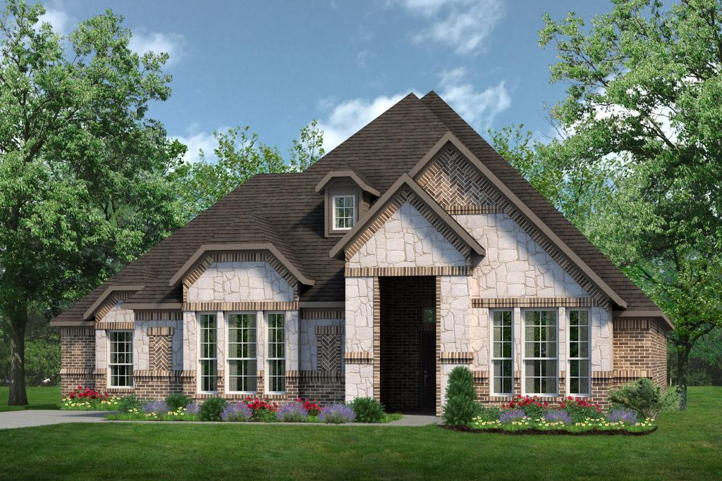 Exterior:Concept 2798 C with Stone