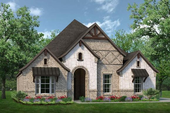 Exterior:Concept 2154 C with Stone
