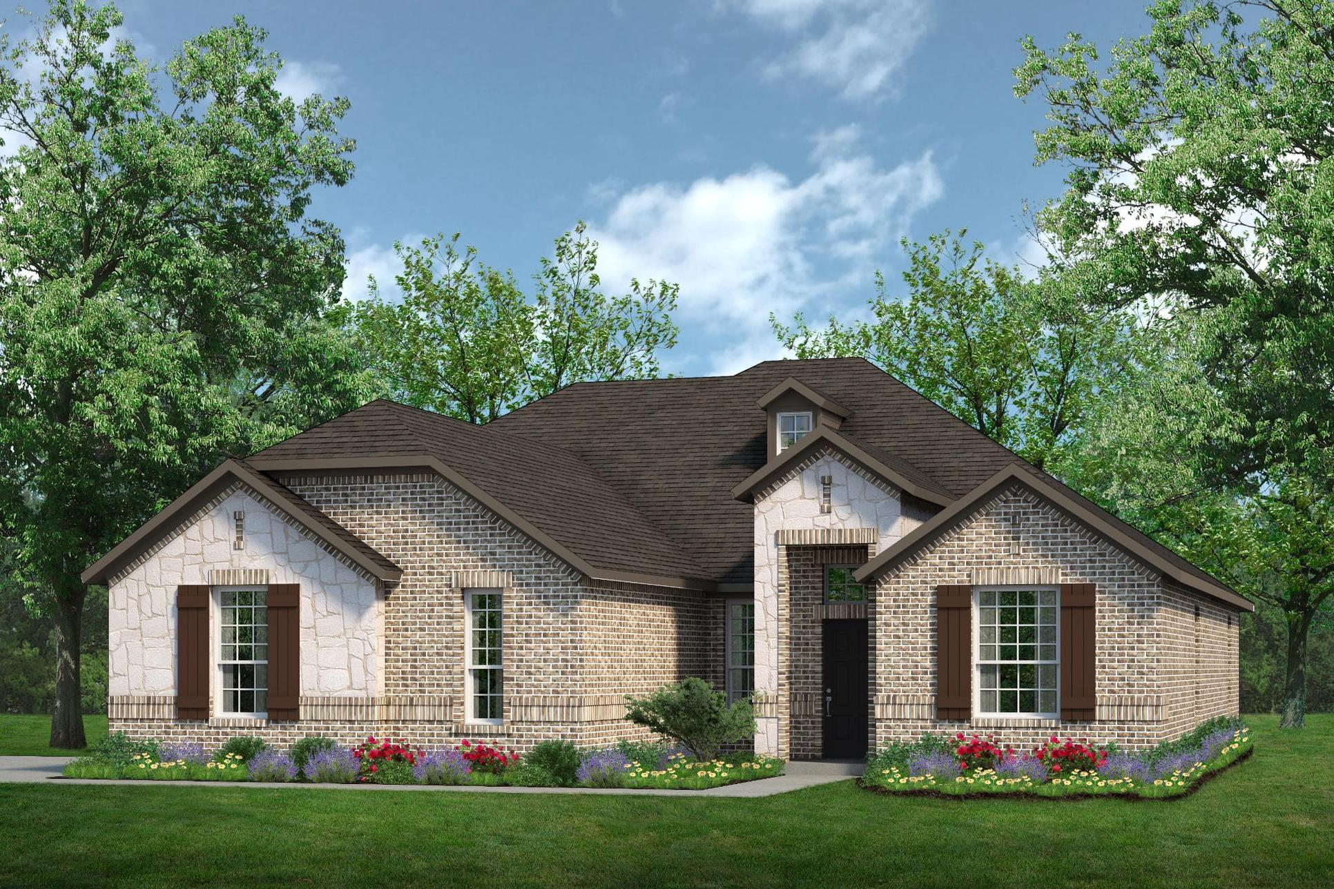 Exterior:2555 A with Stone