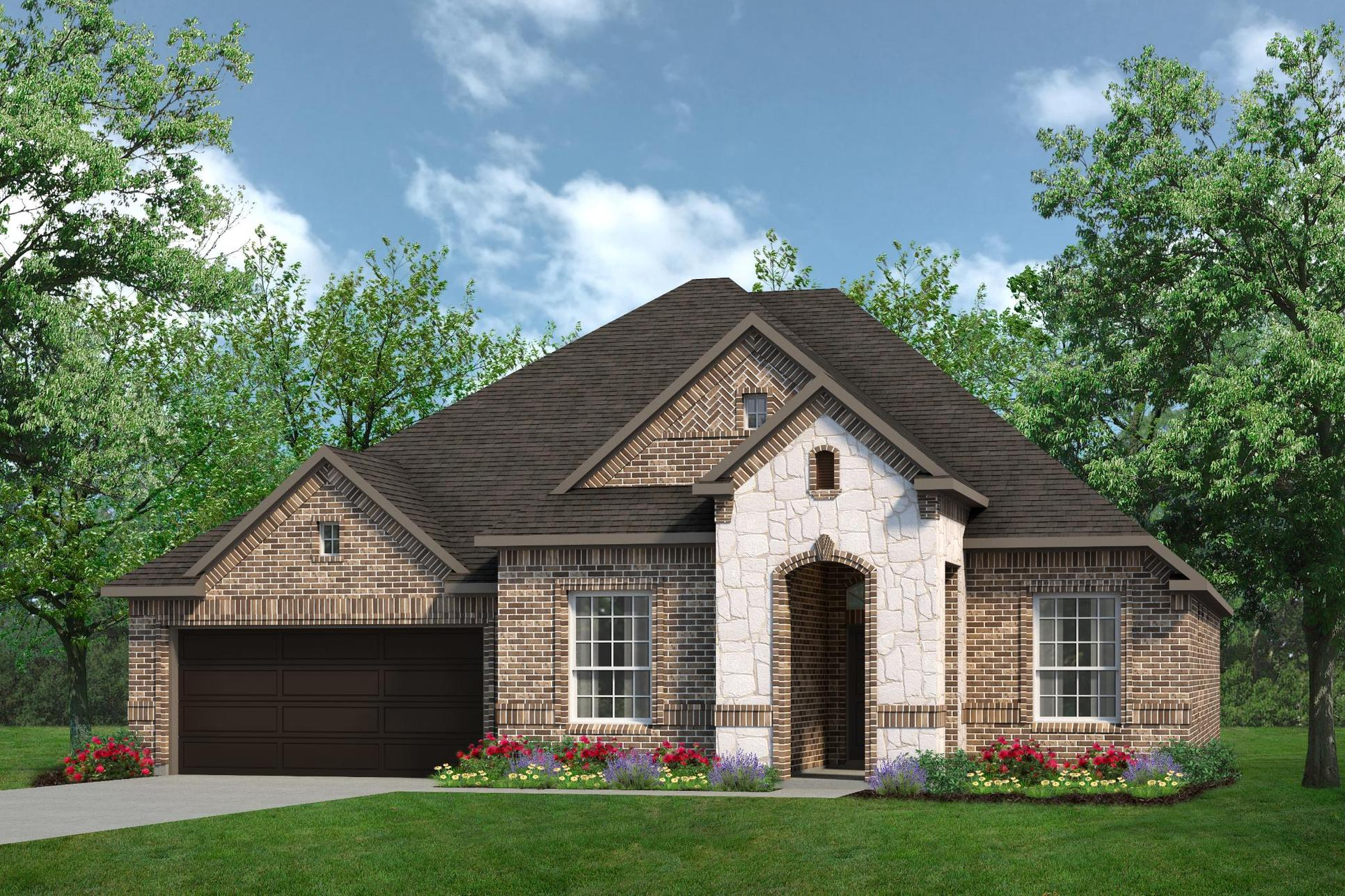 Exterior:2434 A with Stone