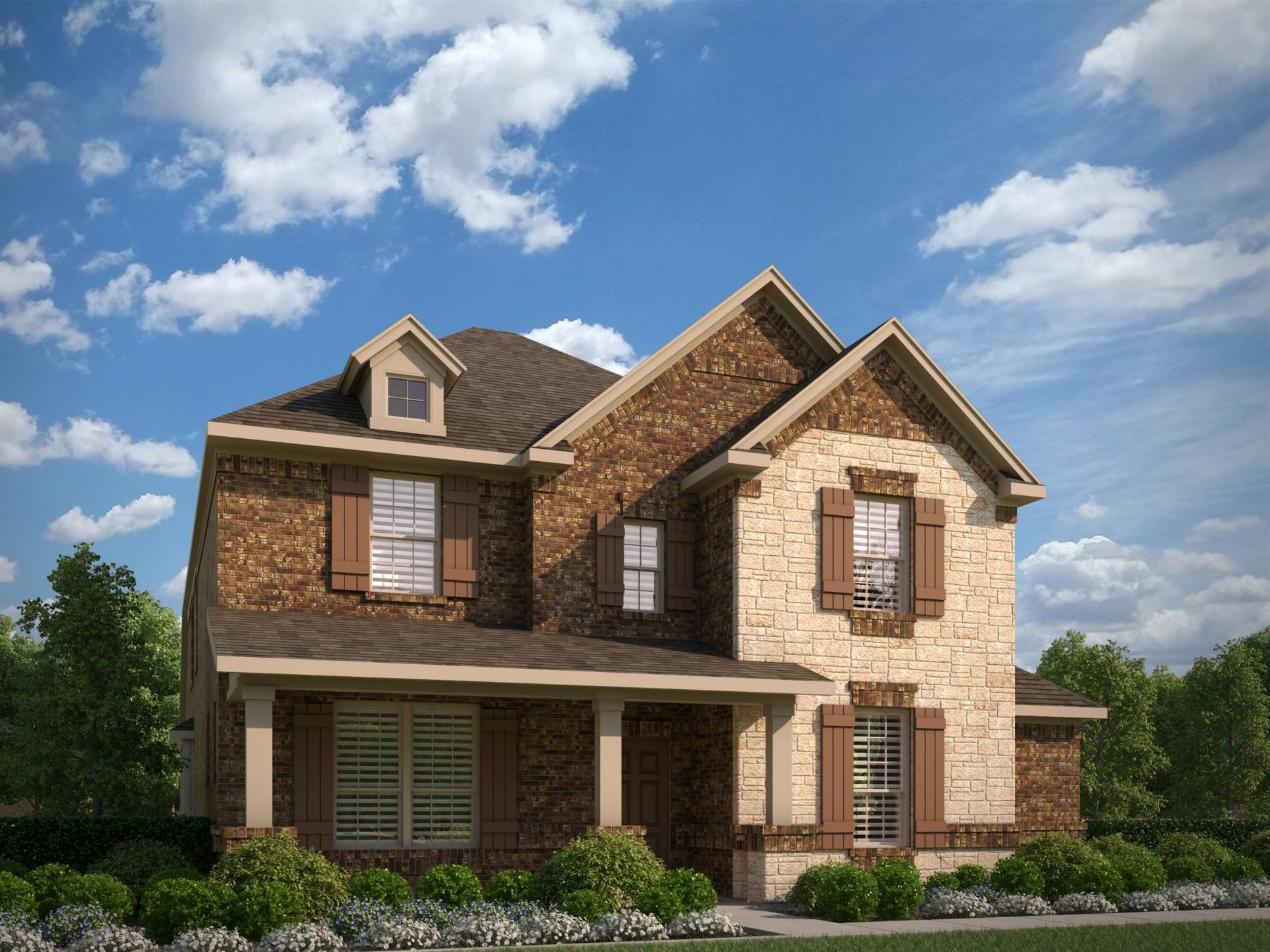Exterior:3106 B with Stone