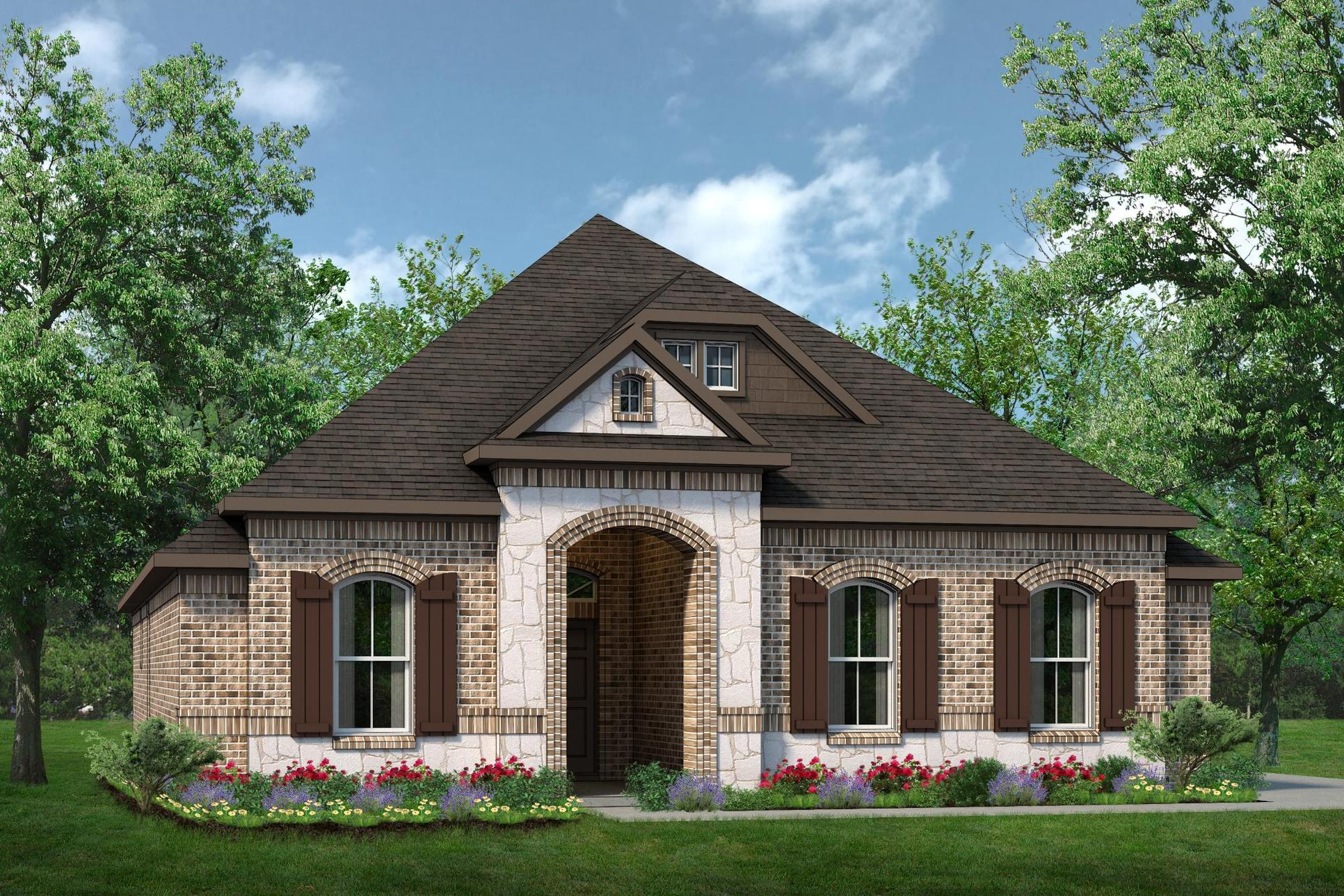 Exterior:2154 A with Stone
