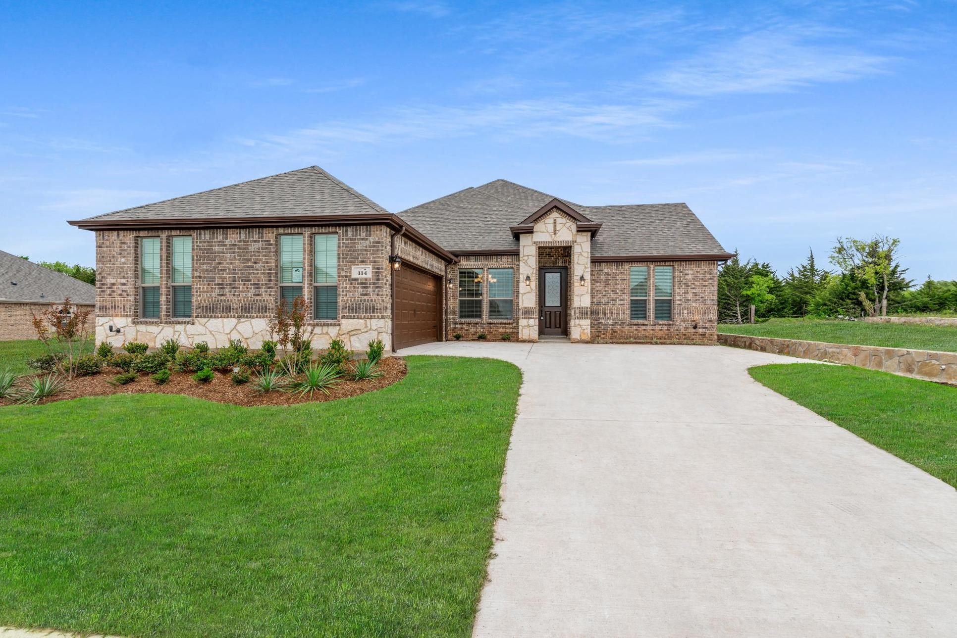 Exterior:2404 A with Stone